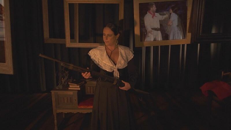 Imagem 1 - Episódio 01 - BATISMO DE FOGO - Anita: Amor, Luta e Liberdade