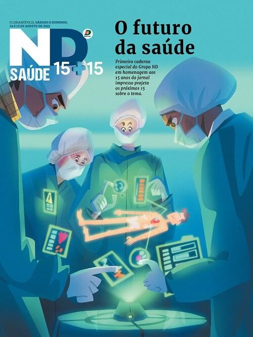Capa do caderno especial - O futuro da saúde
