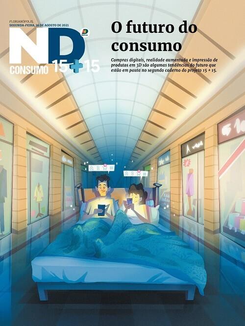 Capa do caderno especial - O futuro do consumo