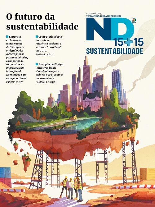 Capa do caderno especial - O futuro da sustentabilidade