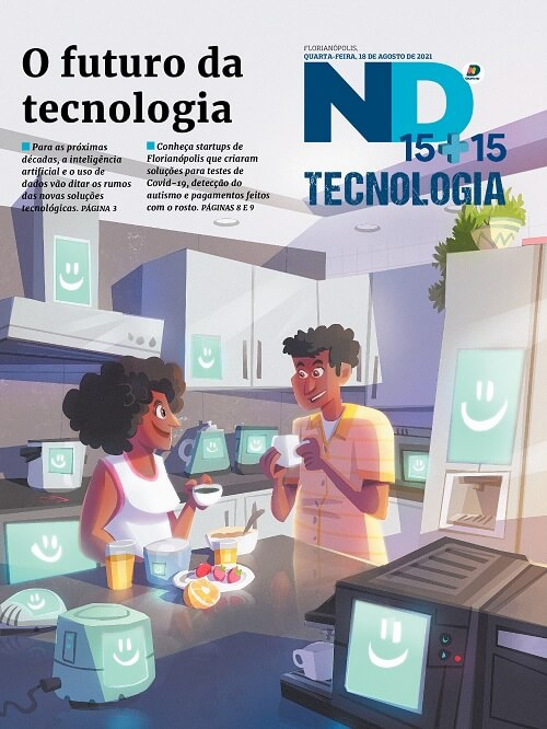 Capa do caderno especial - O futuro da tecnologia