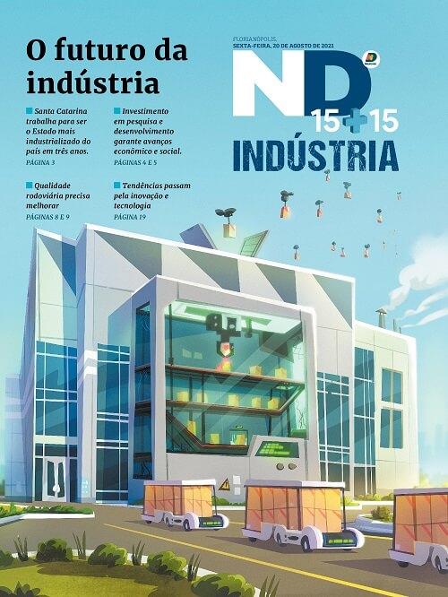 Capa do caderno especial - O futura da indústria