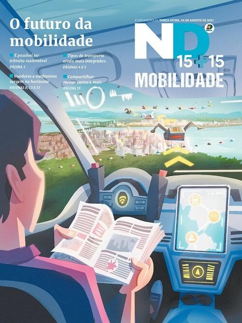 Capa do caderno especial - O futuro da mobilidade
